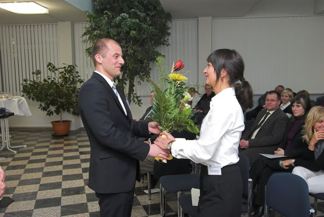 Eröffnung Career Service am 16.12.2009