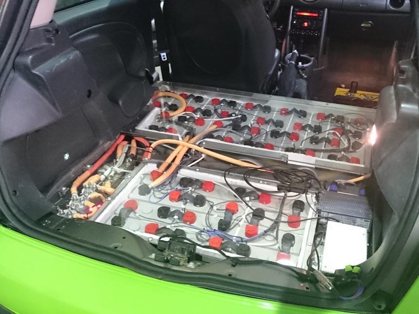 Batterie des EMini