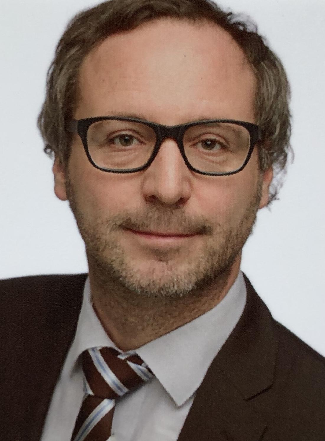 Portait: Prof Dr. Markus hertwig, Leiter des Instituts für Soziologie Chemnitz