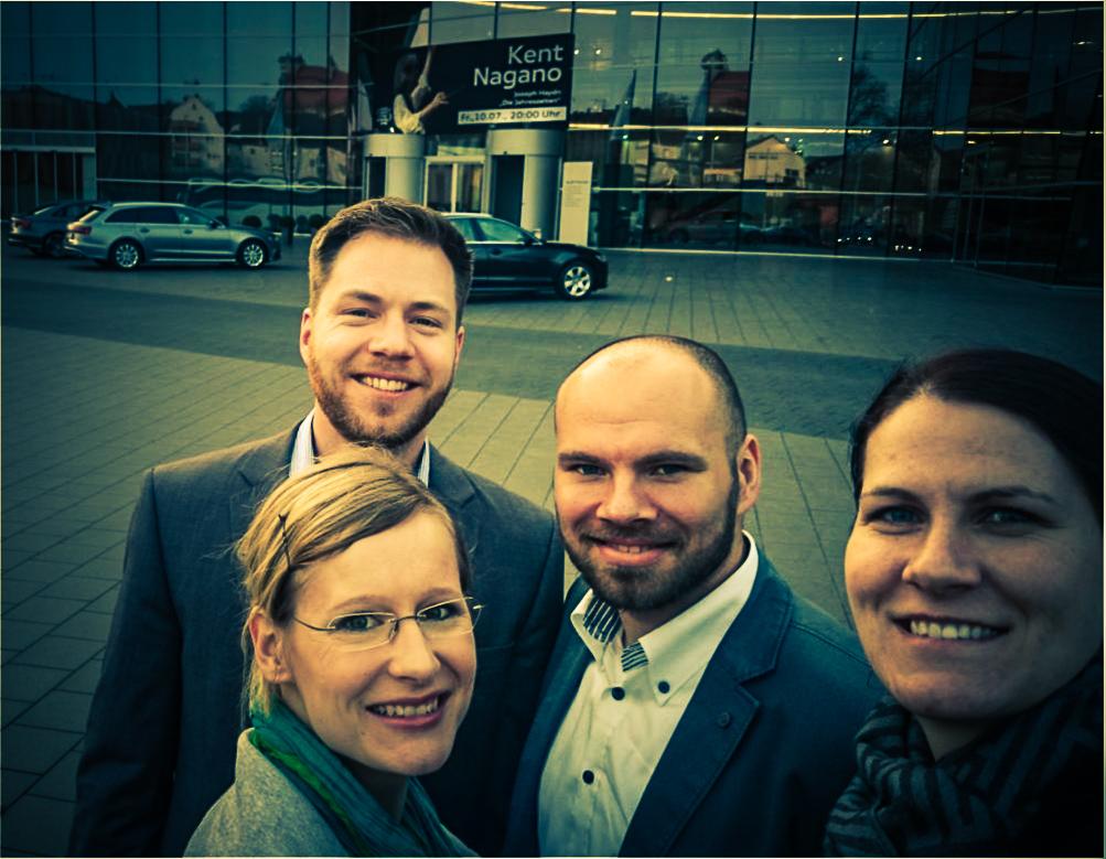 Projektteam S-CPS beim Praxispartner Audi AG in Neckarsulm