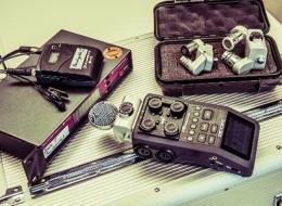 Tonaufnahmegerät und Drahtlossystem