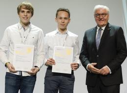 Preisträger und Bundespräsident Frank-Walter-Steinmeier
