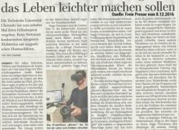 """Pressecho: Die """"Freie Presse"""" berichtete über den Tag der einfachen Produkte"""