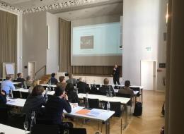 André Dettmann präsentiert seine Ergebnisse