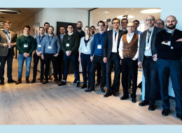 Teilnehmer am Kick-off des Projektes SEAMLESS (Foto: SimPlan AG)