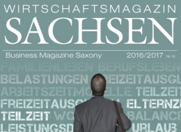 Cover Wirtschaftsmagazin SACHSEN 2016/2017