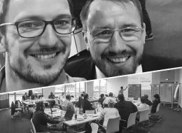 Aleander Aust (aw&I) und Kai Wedekind, Leiter des Kompetenzteams Vertrieb & Service