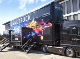 """""""InnoTruck"""" mit Forschungsergebnissen der aw&Is an Bord"""
