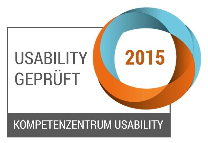 Usability geprüft