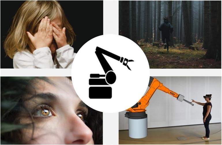 Industrieroboter können Angst auslösen. Angst und ihre Ursachen bei der Mensch-Roboter-Kollaboration zu erkennen sowie zu vermeiden ist das Ziel des Projekts 3DIMiR.