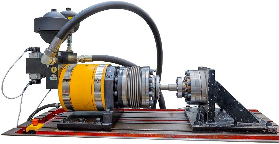 HDZ8000 - Hydraulischer Drehzylinderprüfstand 8000