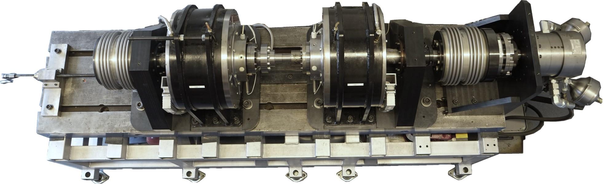 MLP - Magnetlagerpruefstand