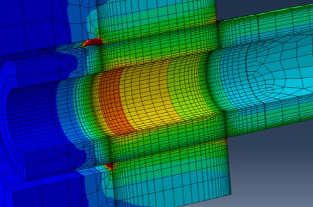 Auslastungsgrenzen elastisch-plastisch beanspruchter Pressverbindungen - am Beispiel von Hohlwellen