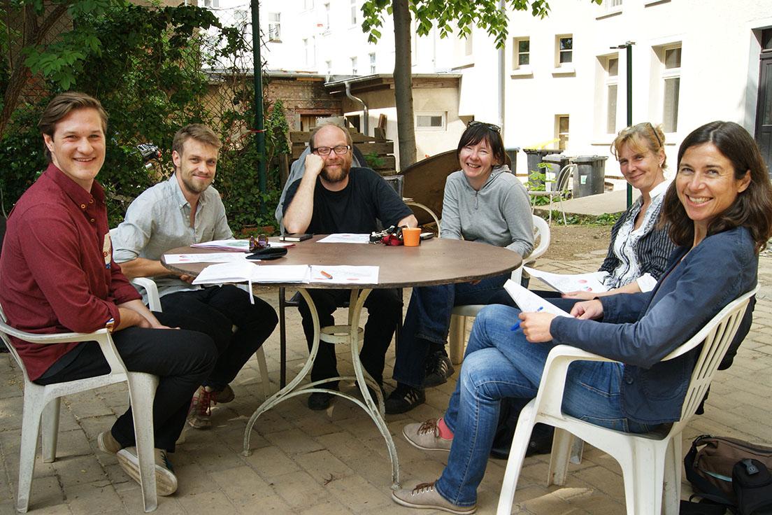 Übergabe des Abschlussberichts an die Magistralenmanagerin der Georg-Schwarz-Straße, Daniela Nuß
