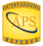 Logo: [EXTERN] 2011 Prof. Schreiber was selected as an Outstanding Referee for the journals of the American Physical Society.
