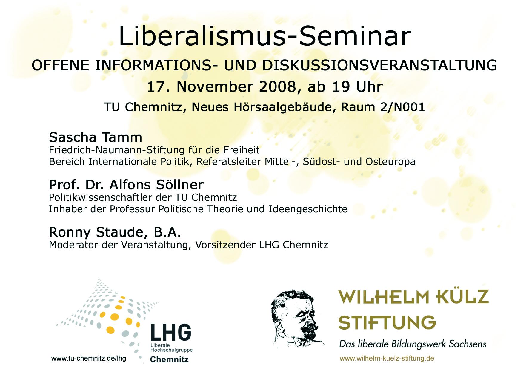 Liberale Hochschulgruppe Chemnitz (LHG Chemnitz)