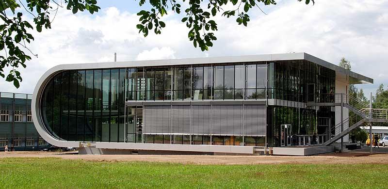 High Tech Architektur: Hopfen Meets Hightech