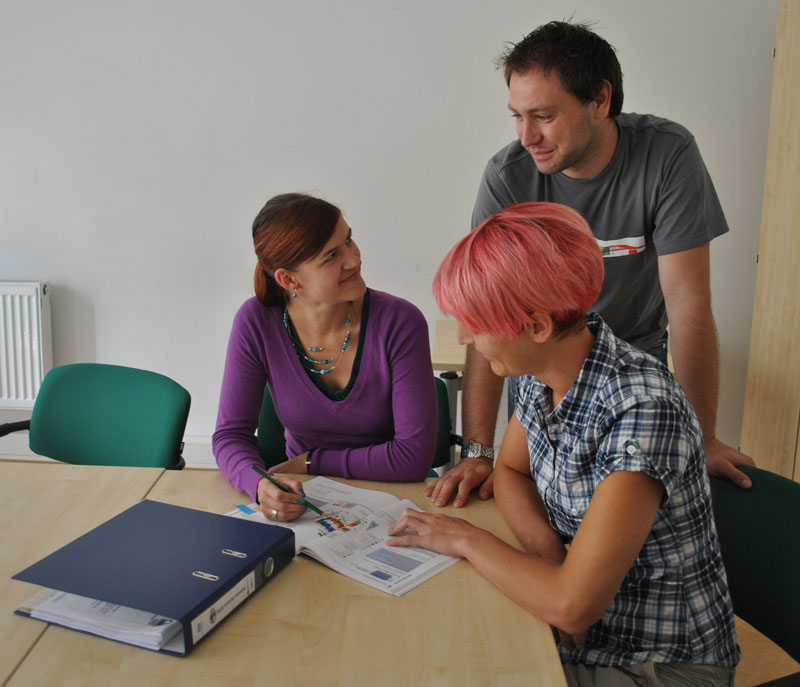 junge tschechen lernten deutsch in chemnitz uni aktuell tu chemnitz. Black Bedroom Furniture Sets. Home Design Ideas