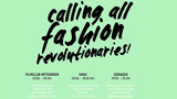 Poster der Fashion Revolution Week in Chemnitz.