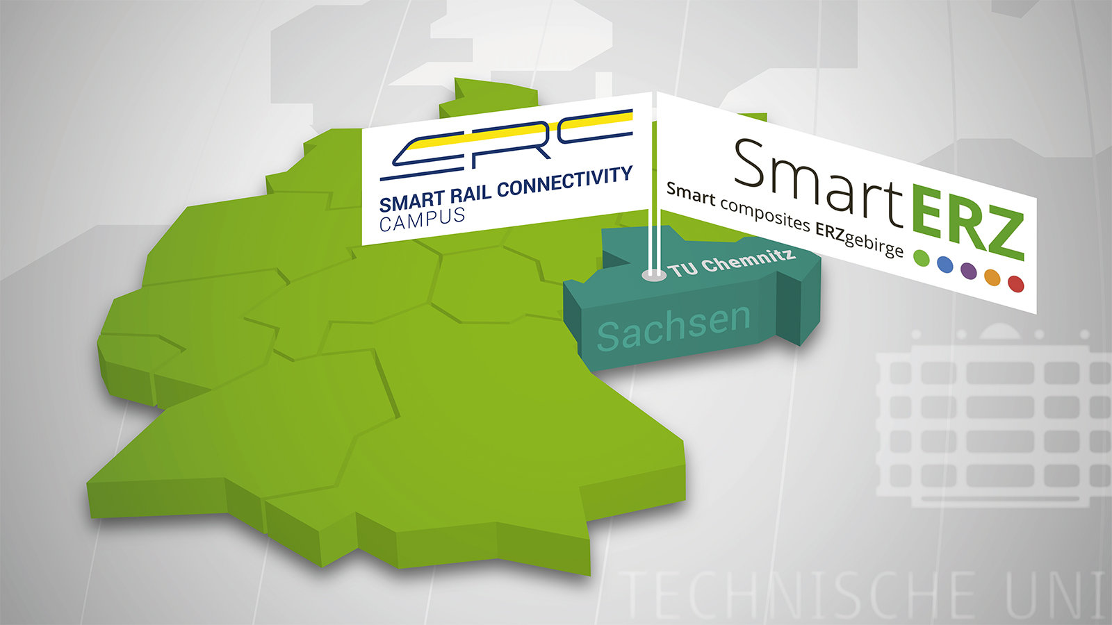 "The two logo ""SRCC"" and ""SmartERZ"" can be seen."