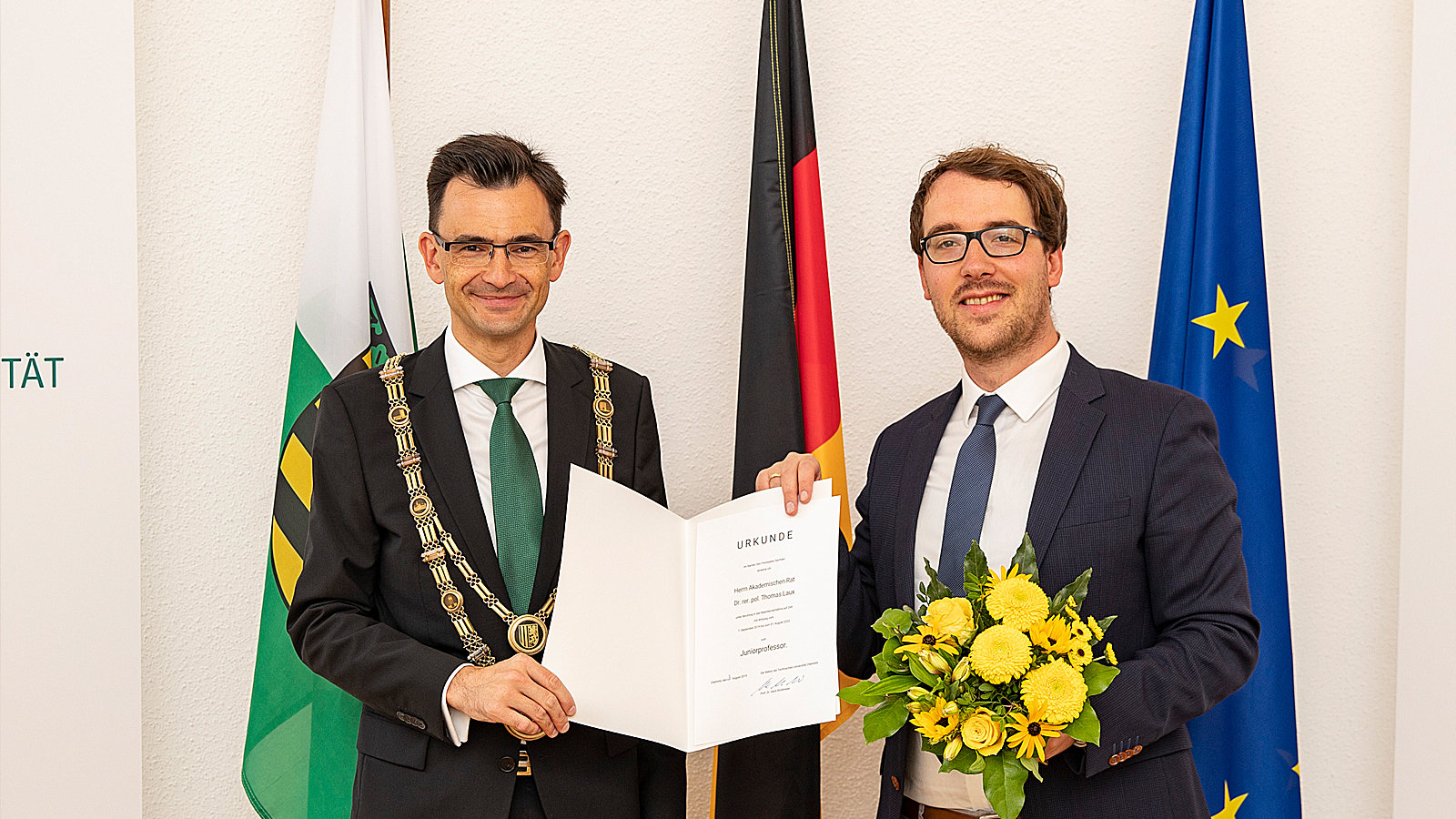 New Appointment at the University | Uni aktuell | TU Chemnitz
