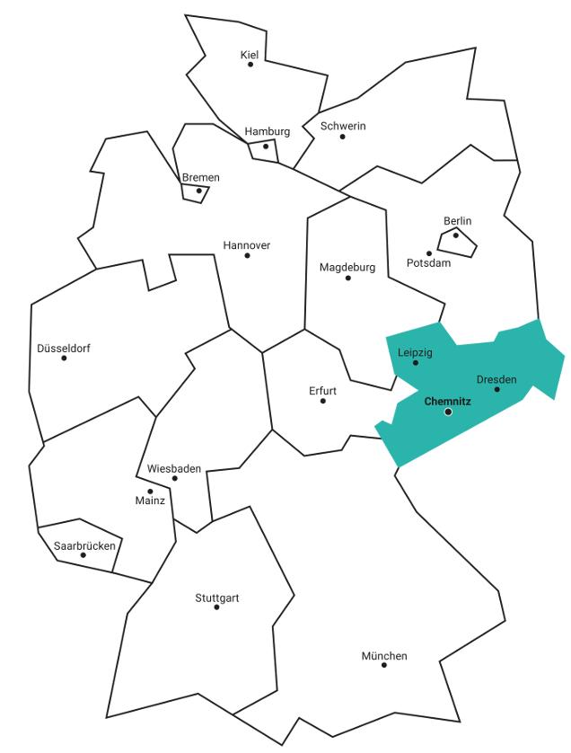 Karte Chemnitz.Anreise Ubersicht Lageplane Universitat Tu Chemnitz