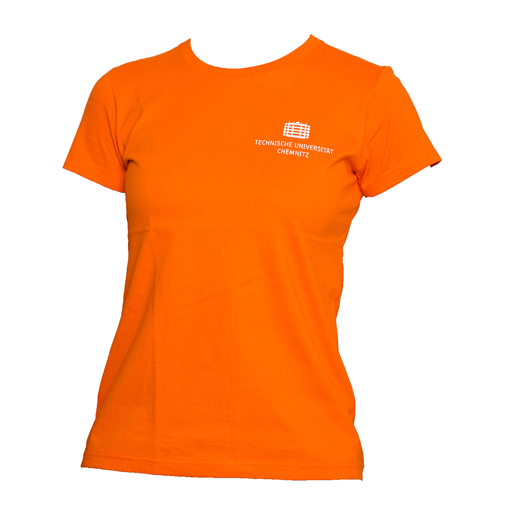 T-Shirt Classic - Damen - Orange  | %%% AUSVERKAUF %%%