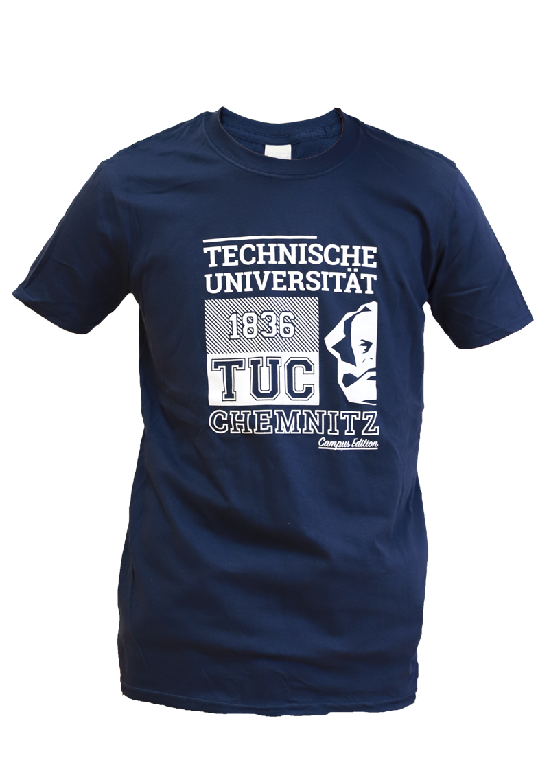"T-Shirt ""Campus Edition"" - Dunkelblau"