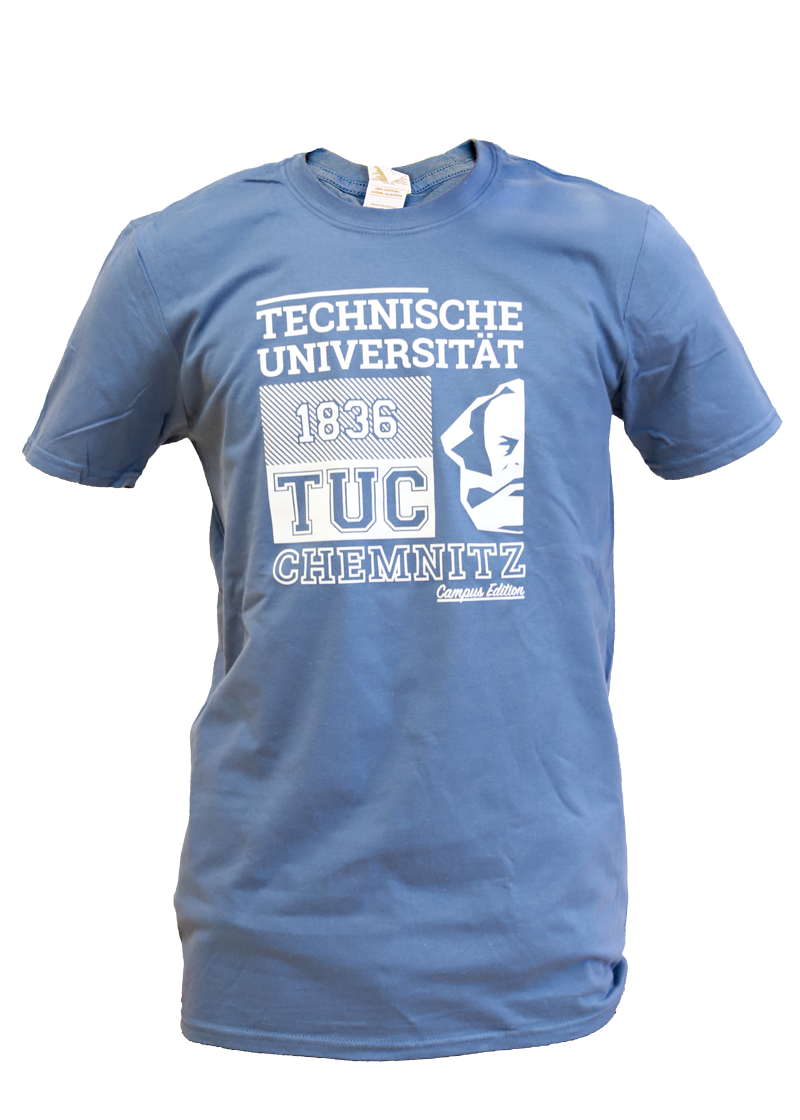 "T-Shirt ""Campus Edition"" - Hellblau"