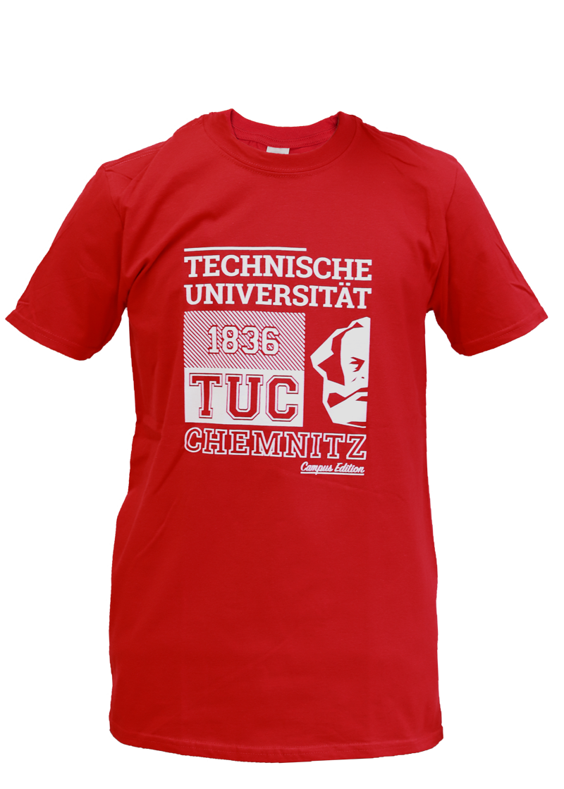 "T-Shirt ""Campus Edition"" - Rot"