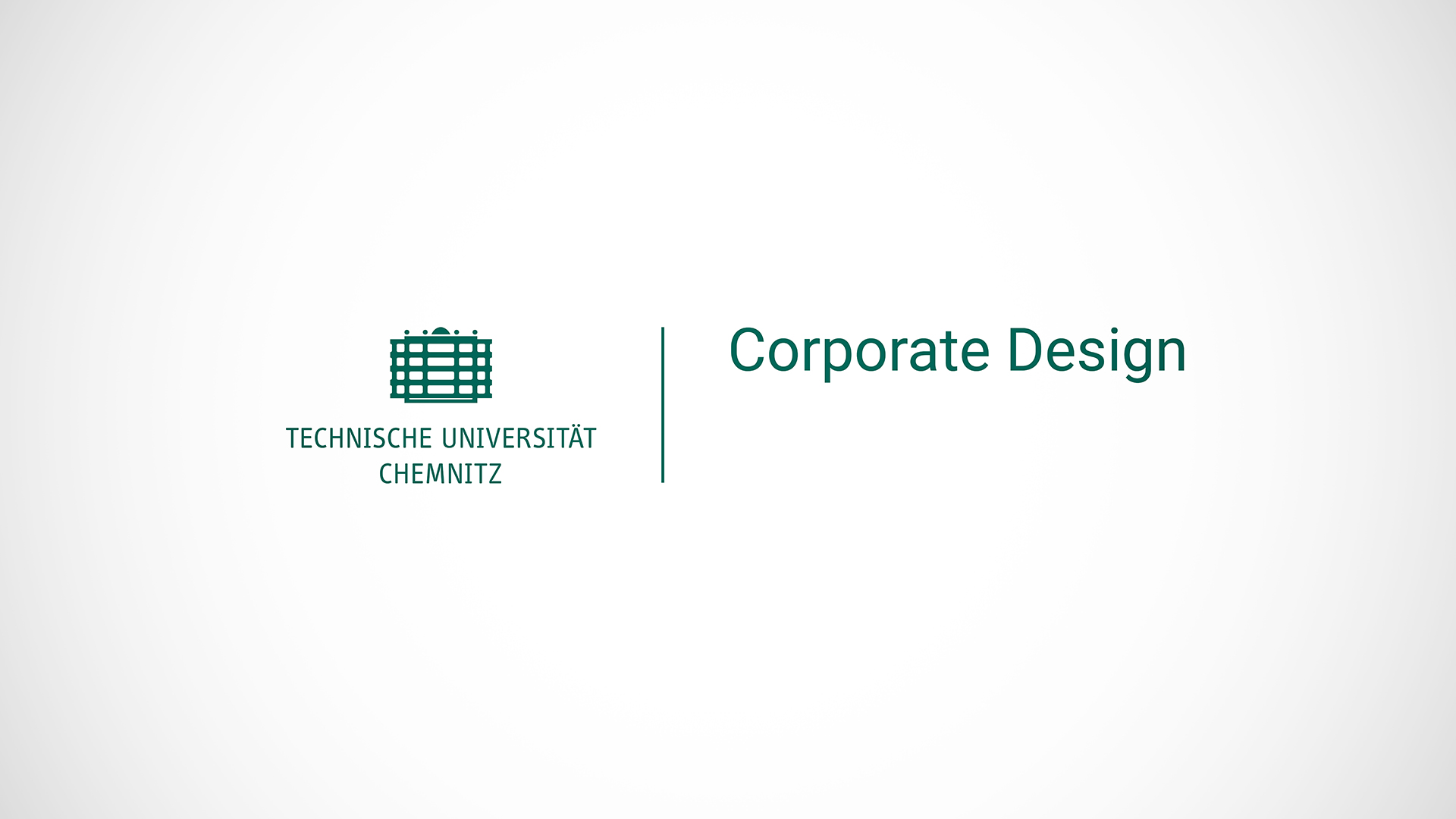 Corporate Design Universität Tu Chemnitz