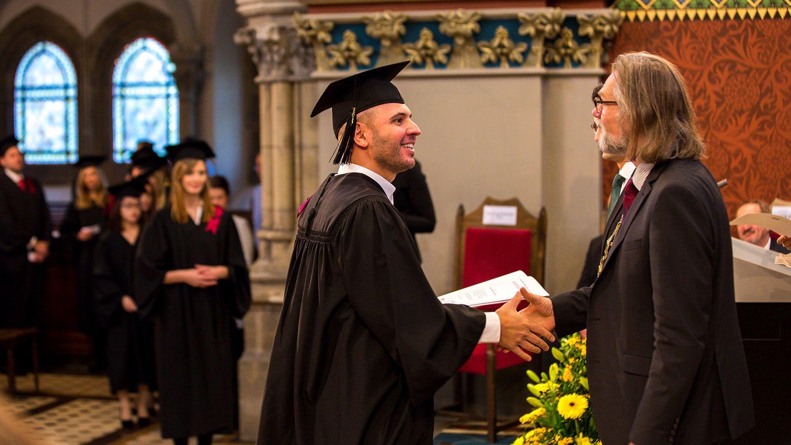 Graduiertenfeier