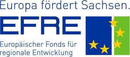 Logo: Gefördert durch EFRE