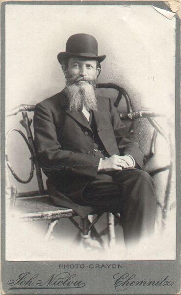 Foto: Georg Heinrich Judenfeind-Hülße © Universitätsarchiv
