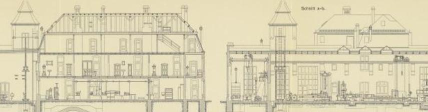 Ausschnittbild aus: Die Materialprüfungsanstalt der Königl. Technischen Hochschule Stuttgart