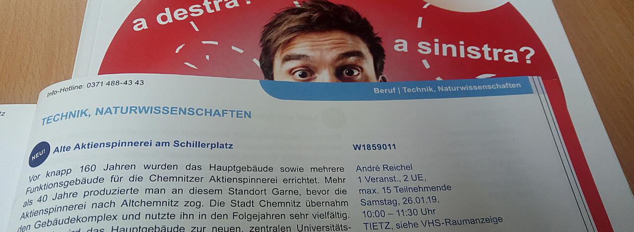 Bild zur Veranstaltung: Alte Aktienspinnerei am Schillerplatz