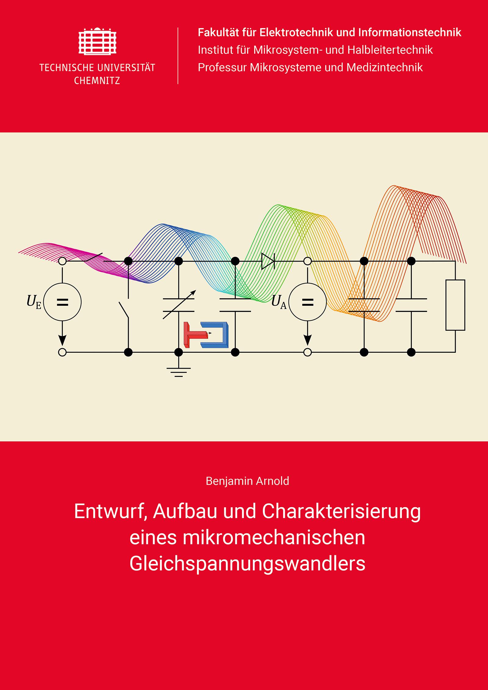 Cover: Entwurf, Aufbau und Charakterisierung eines mikromechanischen Gleichspannungswandlers