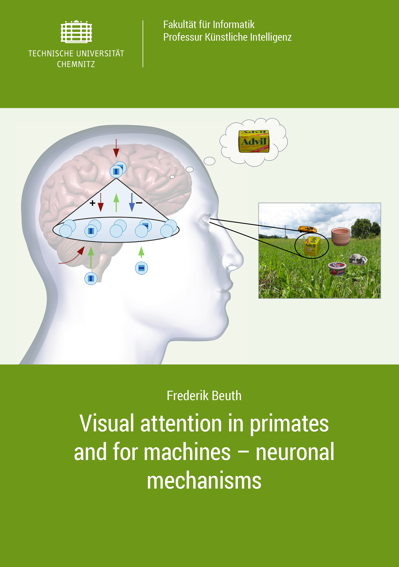 Cover: Visual attention in primates and for machines - neuronal mechanisms