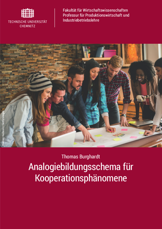 Cover: Analogiebildungsschema für Kooperationsphänomene