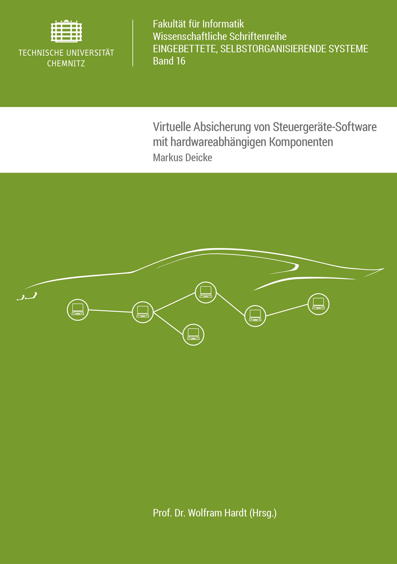 Cover: Virtuelle Absicherung von Steuergeräte-Software mit hardwareabhängigen Komponenten