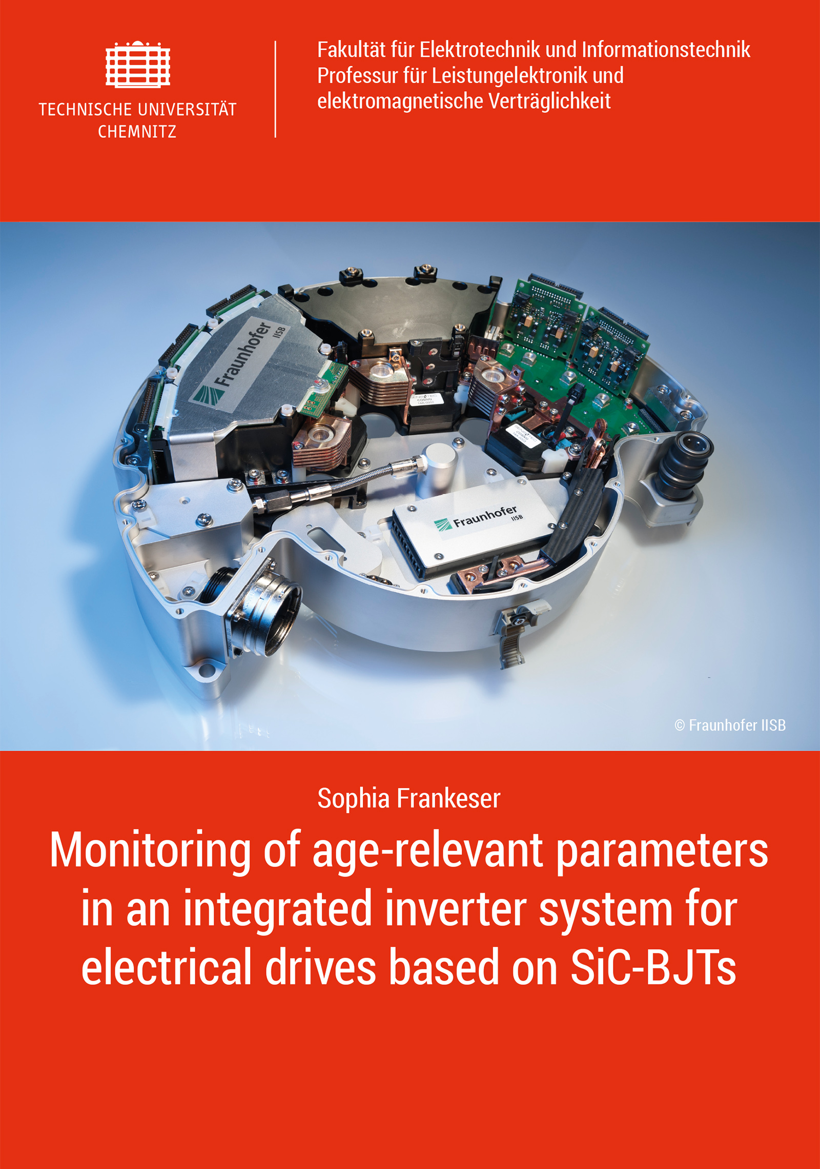 Cover: Monitoring of age-relevant parameters in an integrated inverter system for electrical drives based on SiC-BJTs