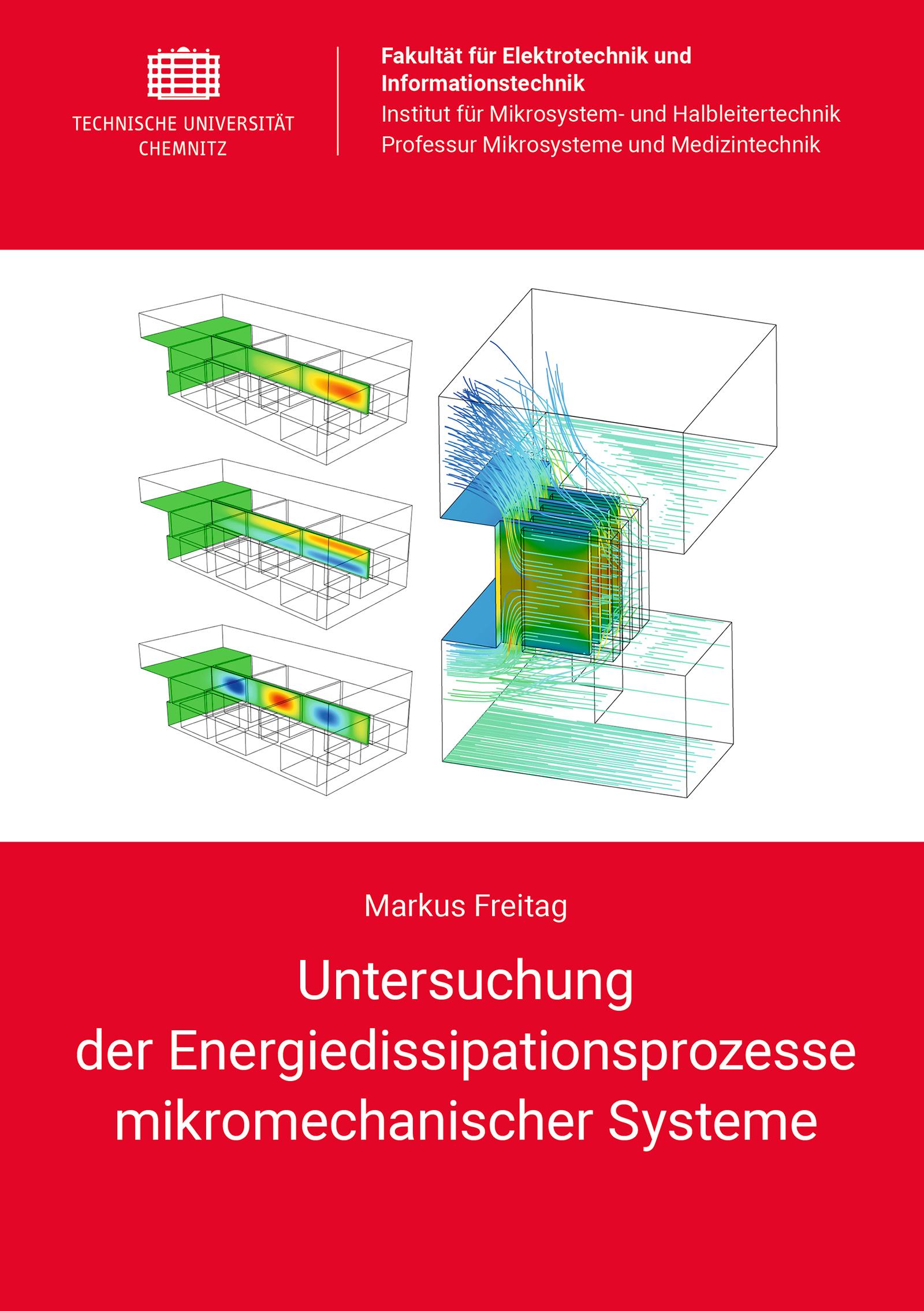 Cover: Untersuchung der Energiedissipationsprozesse mikromechanischer Systeme