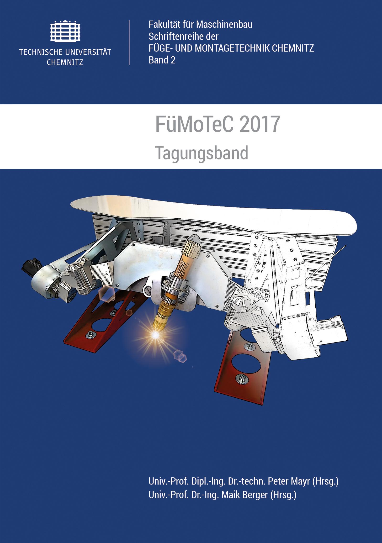 Cover: FüMoTeC 2017 : Tagungsband / Herausgeber: Peter Mayr, Maik Berger