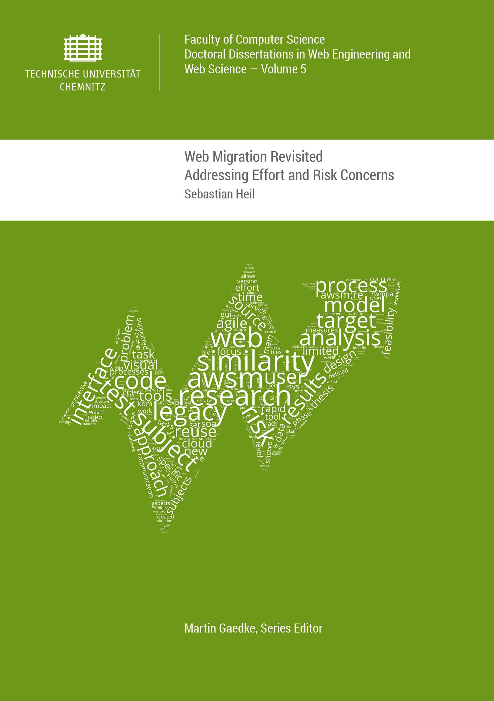 Cover: Web Migration Revisited : Addressing Effort and Risk Concerns