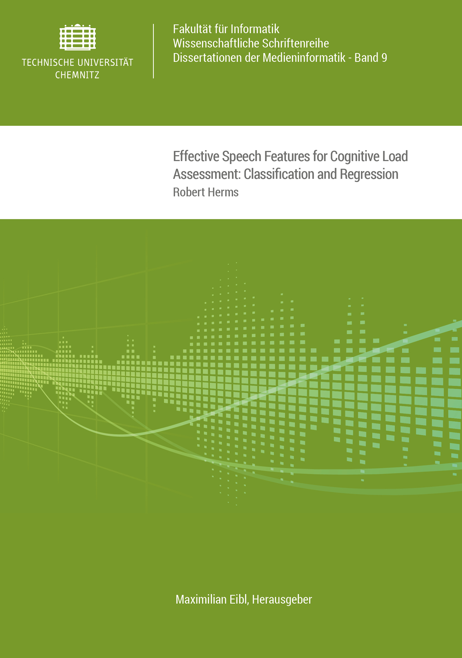 Cover: Effective Speech Features for Cognitive Load Assessment: Classification and Regression