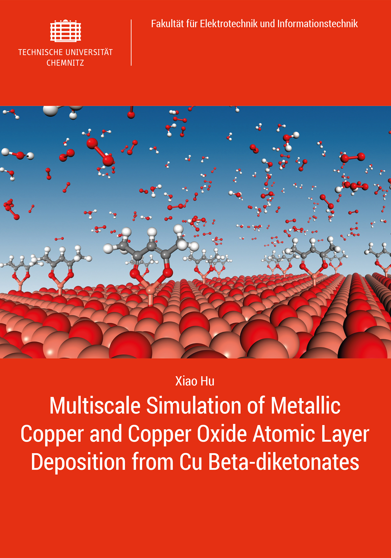 Cover: Multiscale Simulation of Metallic Copper and Copper Oxide Atomic Layer Deposition from Cu Beta-diketonates