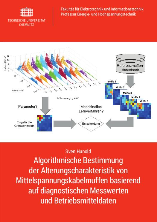 Cover: Algorithmische Bestimmung der Alterungscharakteristik von Mittelspannungskabelmuffen basierend auf diagnostischen Messwerten und Betriebsmitteldaten. - korrigierte Nachauflage