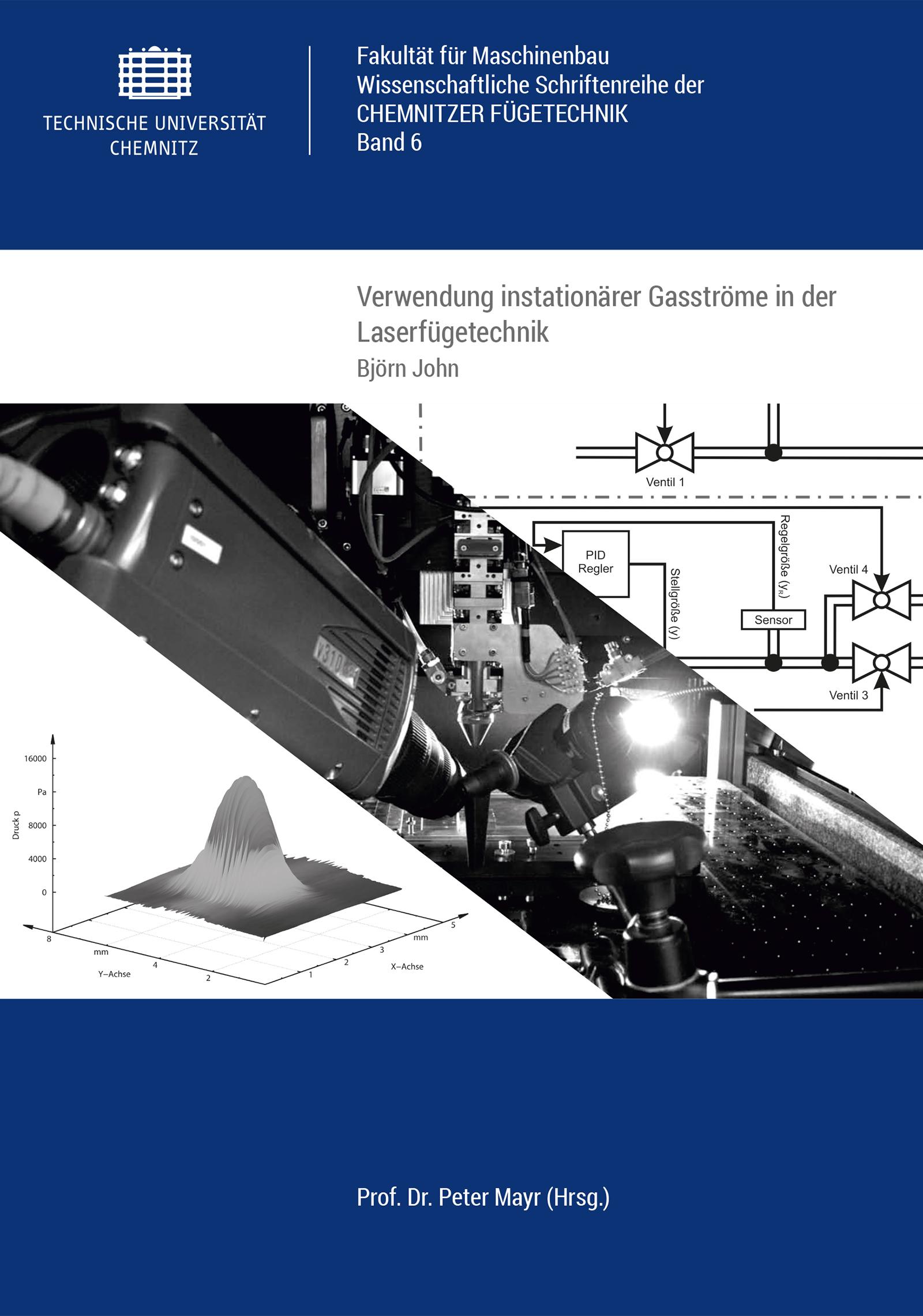 Cover: Verwendung instationärer Gasströme in der Laserfügetechnik