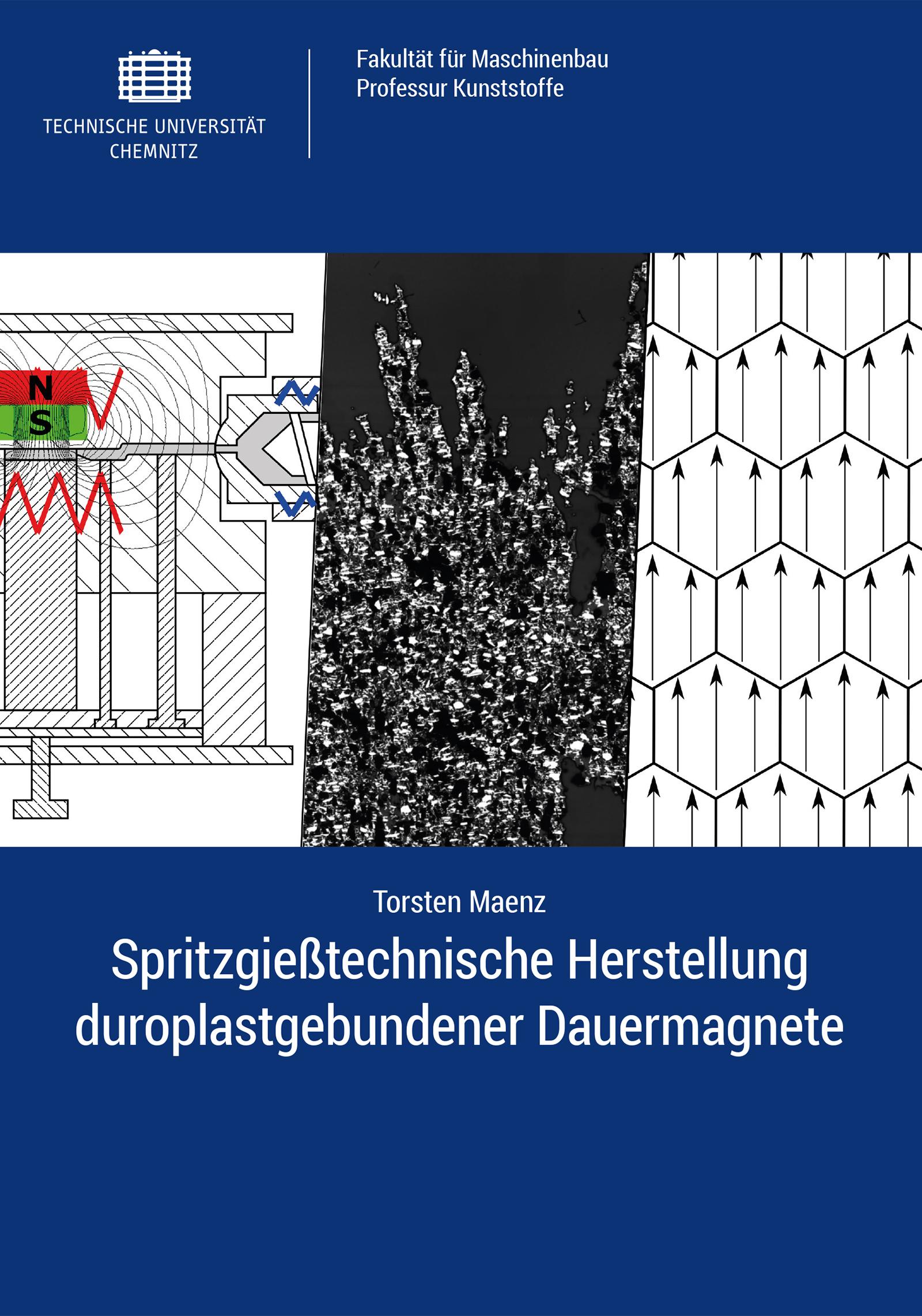 Cover: Spritzgießtechnische Herstellung duroplastgebundener Dauermagnete