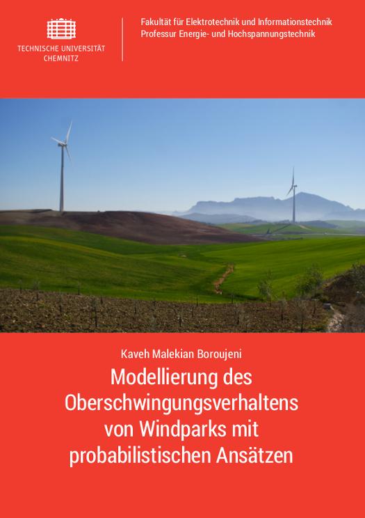 Cover: Modellierung des Oberschwingungsverhaltens von Windparks mit probabilistischen Ansätzen